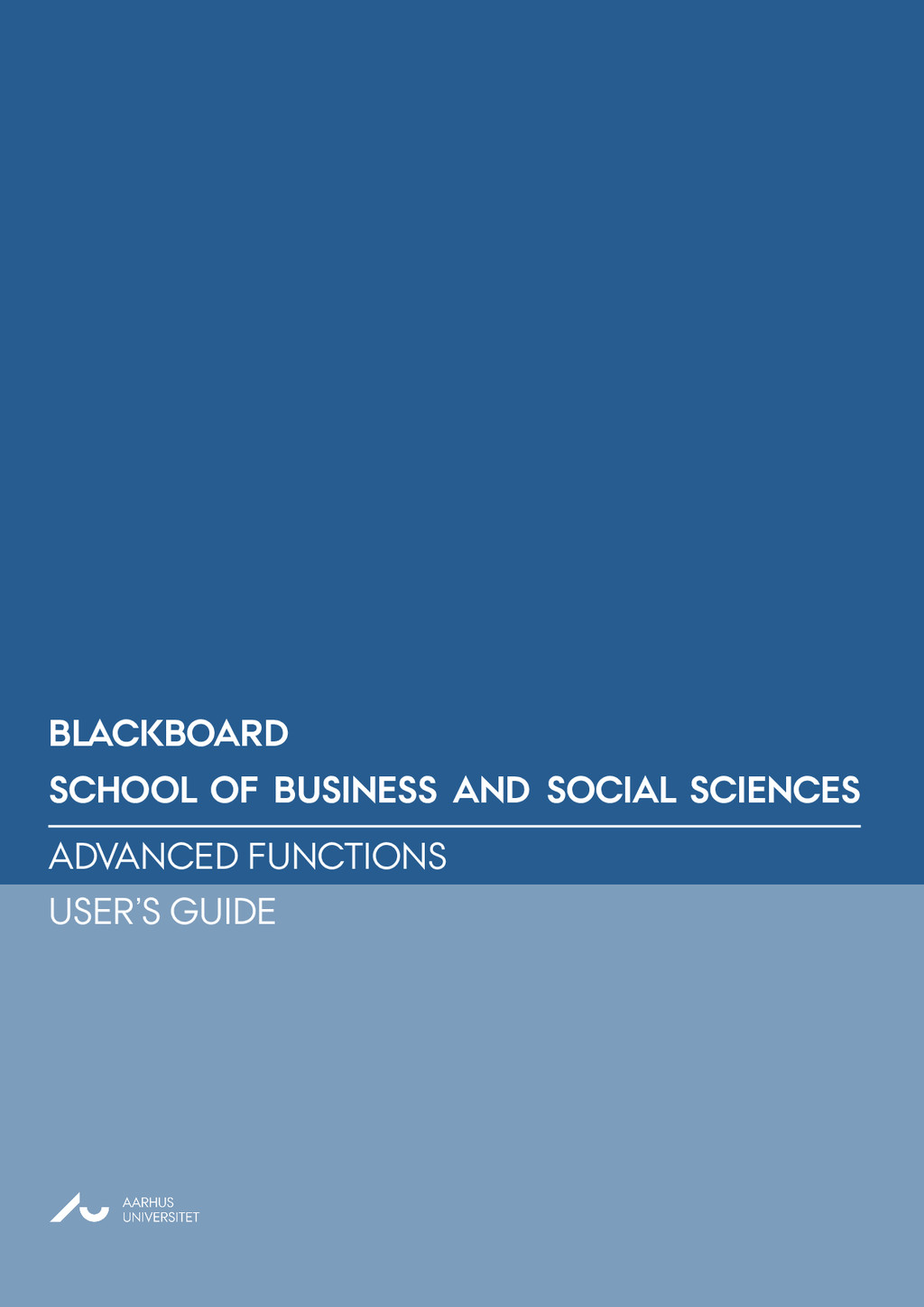 School of BUSINESS AND SOCIAL SCIENCES bLAC...