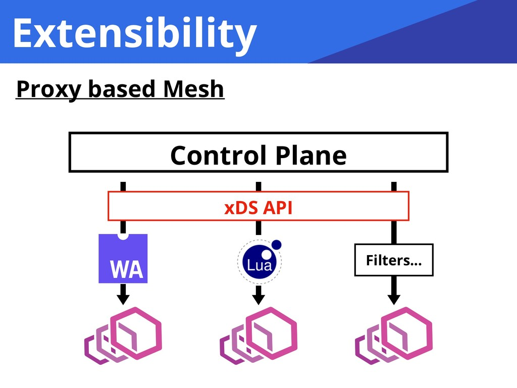 Extensibility Proxy based Mesh Control Plane xD...