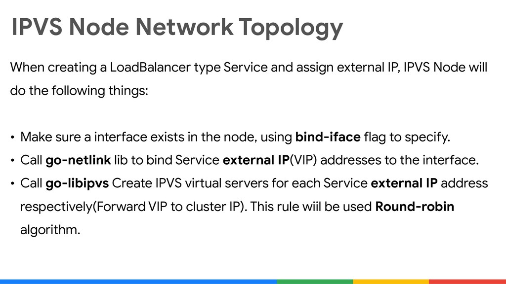 IPVS Node Network Topology When creating a Load...