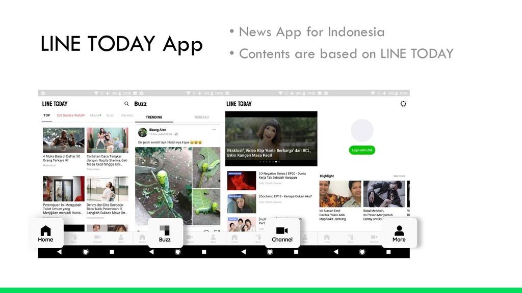 LINE TODAY App • News App for Indonesia • Conte...