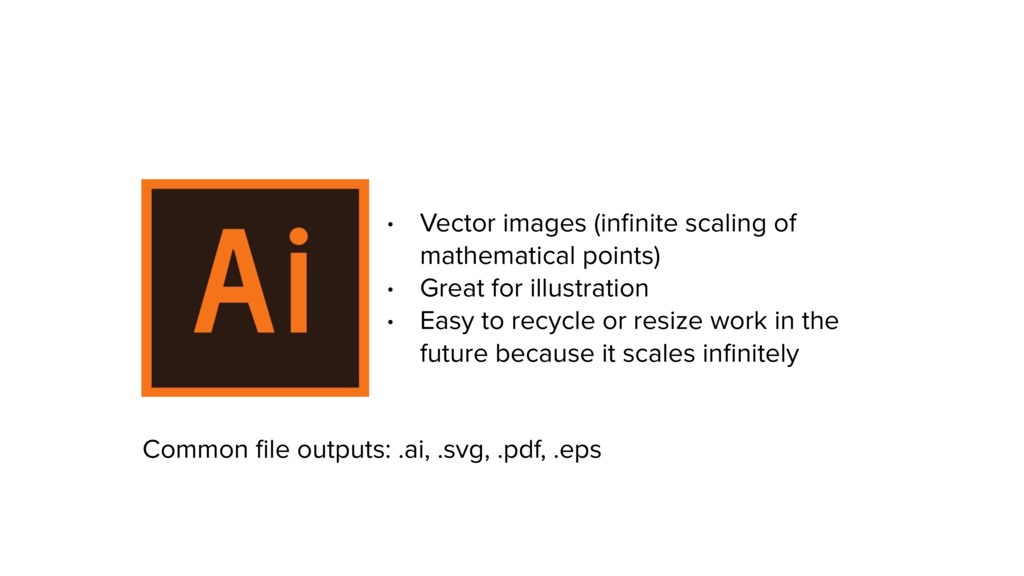 • Vector images (infinite scaling of mathematica...