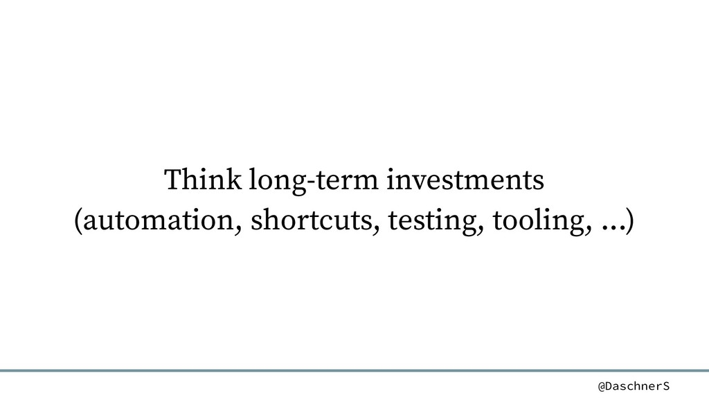 @DaschnerS Think long-term investments (automat...