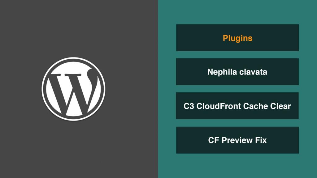 C3 CloudFront Cache Clear CF Preview Fix Plugin...