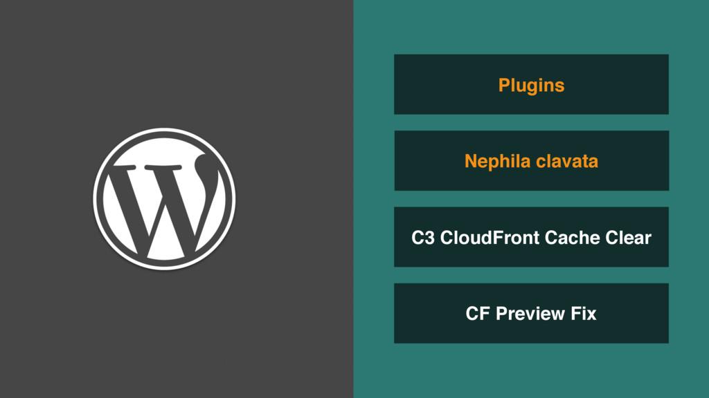 CF Preview Fix C3 CloudFront Cache Clear Nephil...