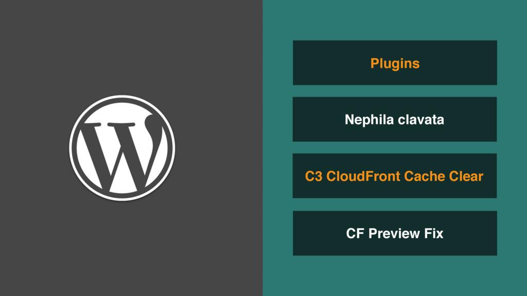 CF Preview Fix C3 CloudFront Cache Clear Plugin...