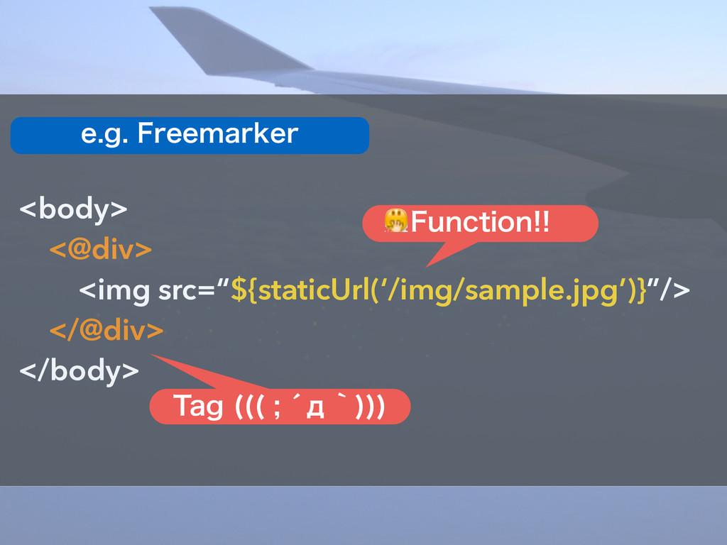 "<body> <@div> <img src=""${staticUrl('/img/sampl..."