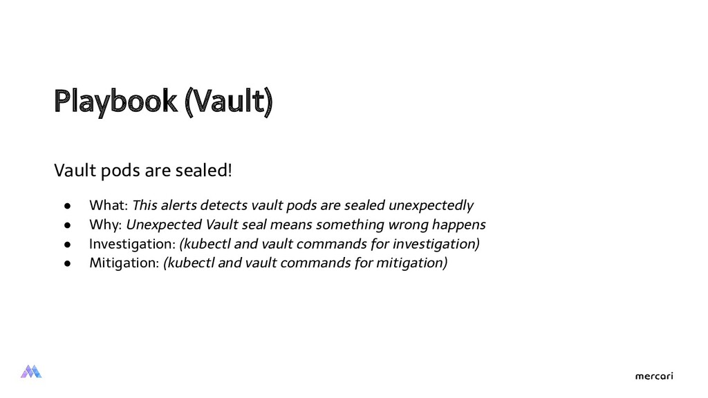 Playbook (Vault)