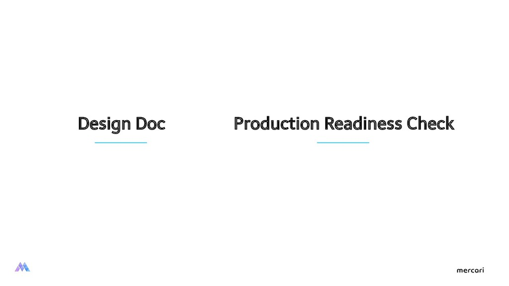 Design Doc Production Readiness Check