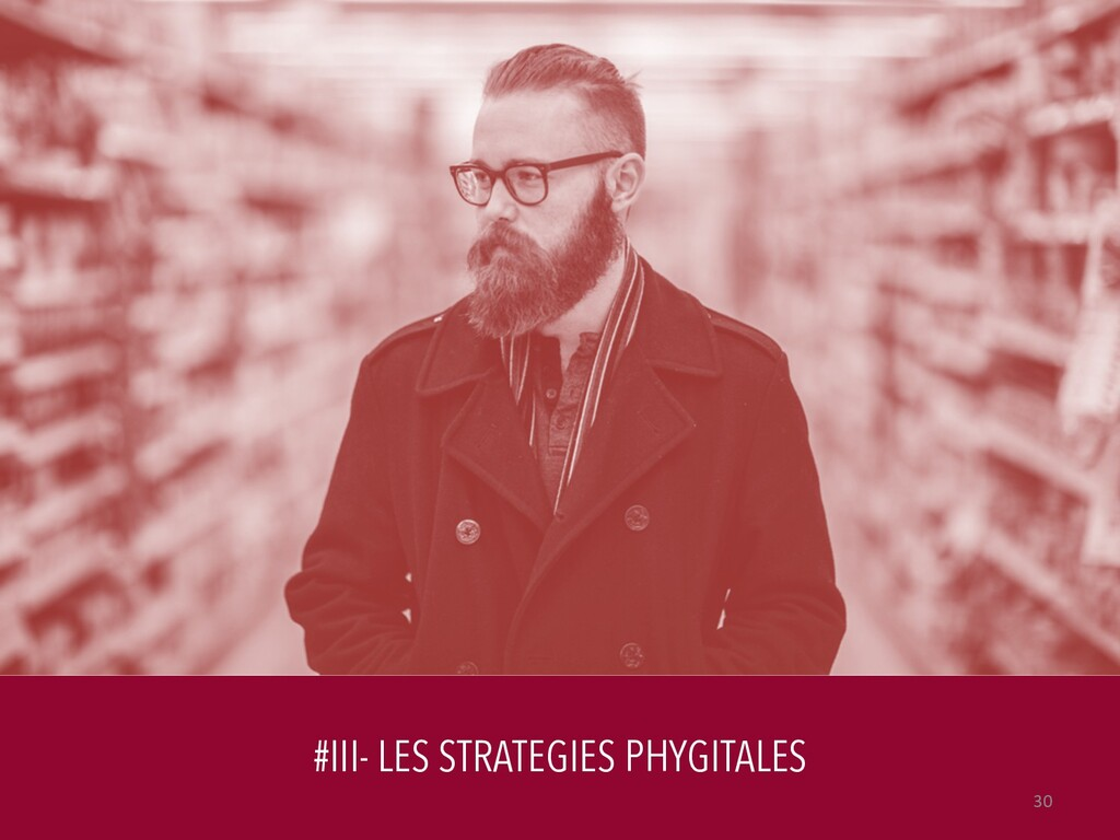 #III- LES STRATEGIES PHYGITALES 30