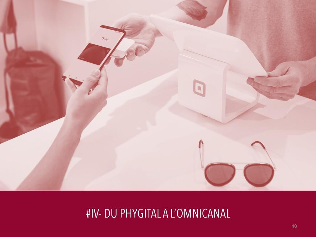 #IV- DU PHYGITAL A L'OMNICANAL 40