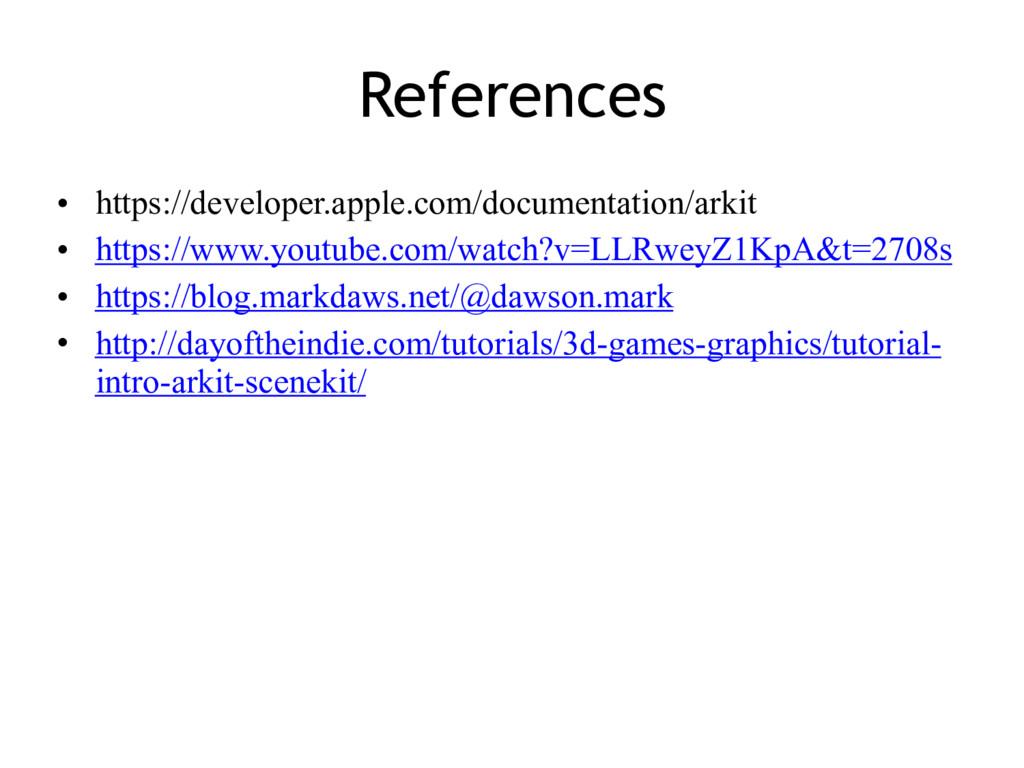 References • https://developer.apple.com/docume...