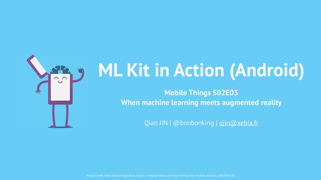 ML Kit in Action (Android) Mobile Things S02E03...