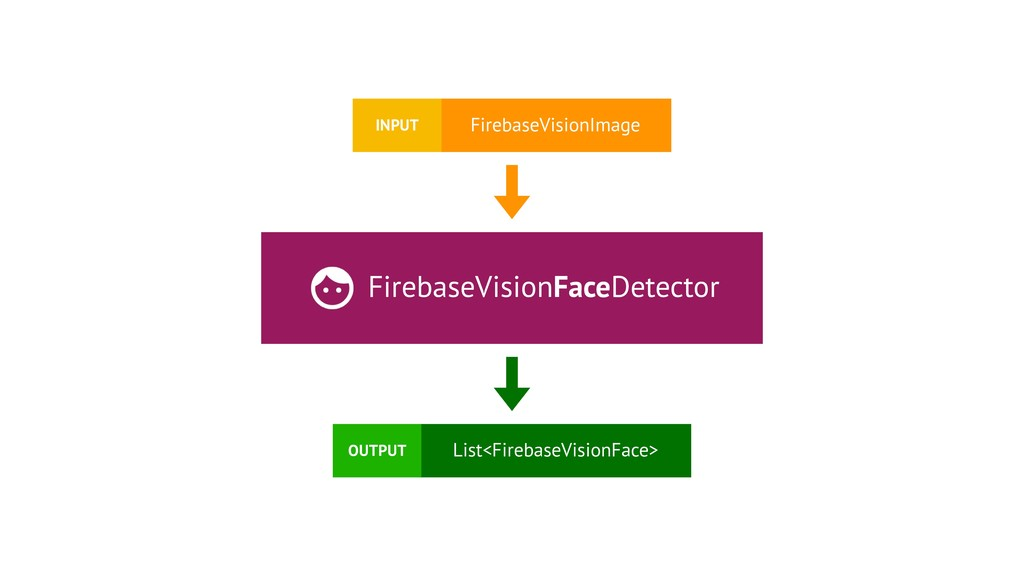 FirebaseVisionFaceDetector FirebaseVisionImage ...