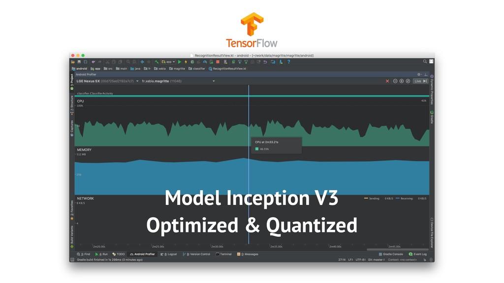 Model Inception V3 Optimized & Quantized