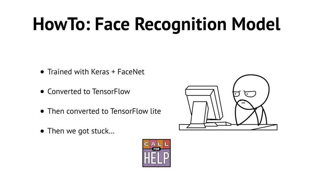 HowTo: Face Recognition Model • Trained with Ke...