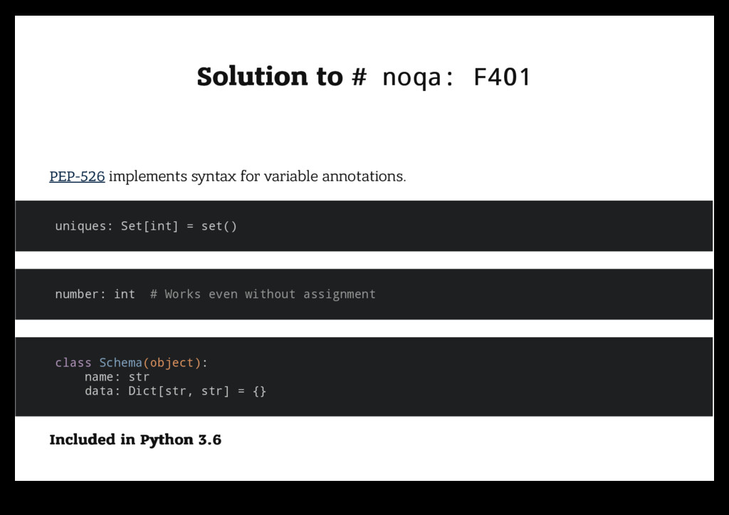 Solution to Solution to # noqa: F401 # noqa: F4...
