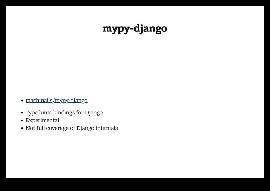 mypy-django mypy-django machinails/mypy-django ...