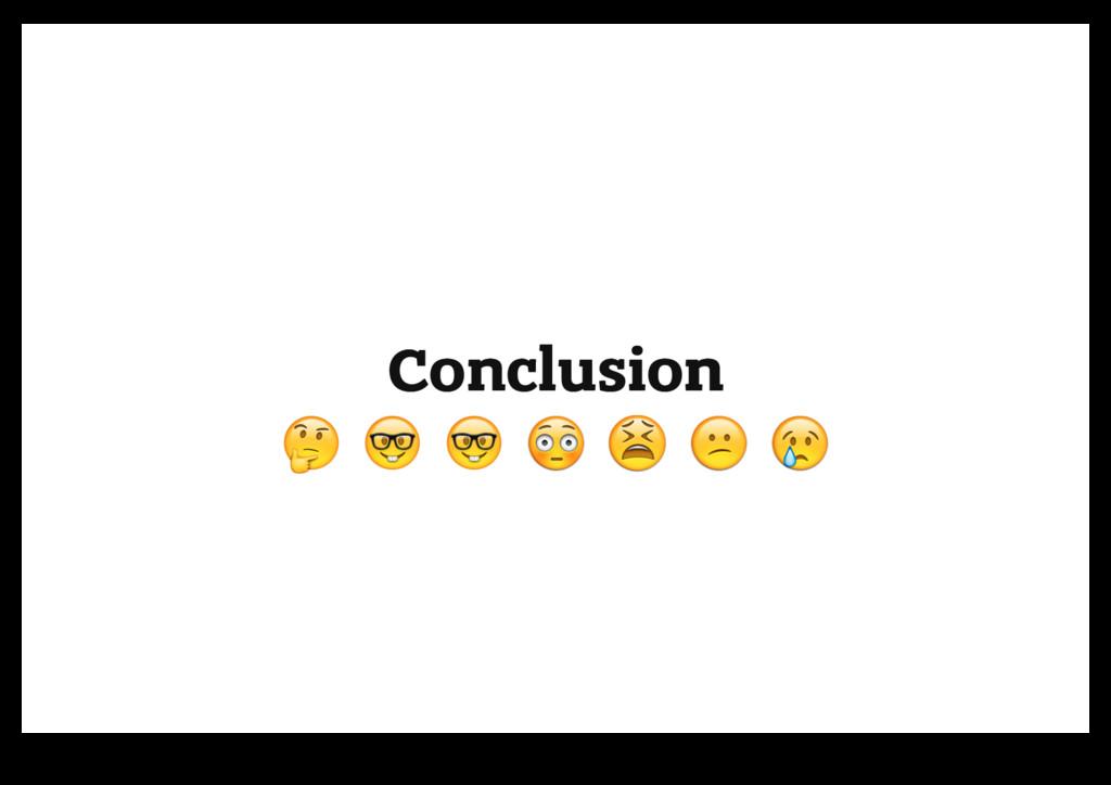"""Conclusion Conclusion """" """" # # # # $ $ % % & & '..."""
