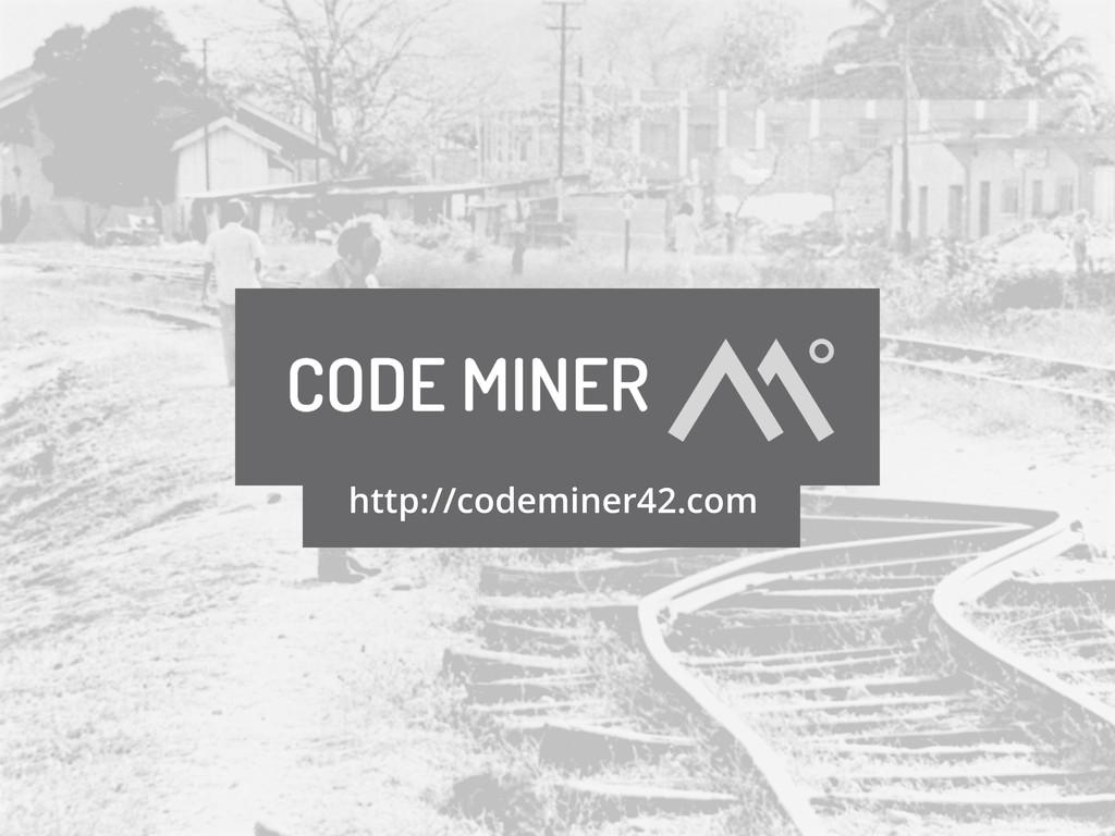 http://codeminer42.com