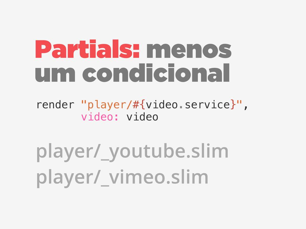"""Partials: menos um condicional render """"player/#..."""