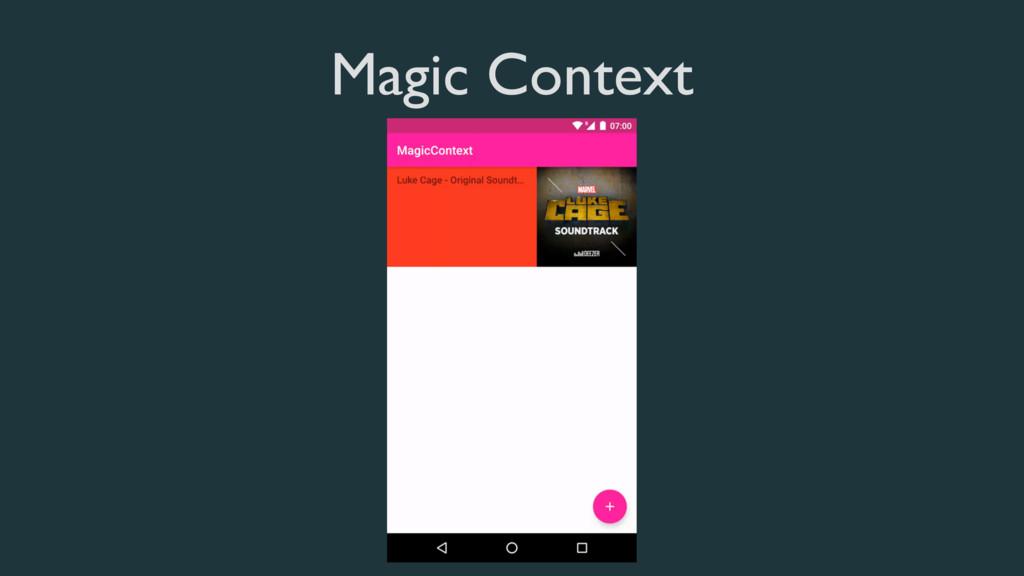 Magic Context