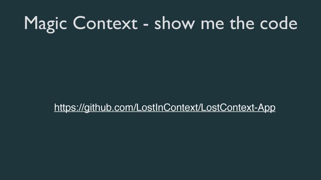 Magic Context - show me the code https://github...