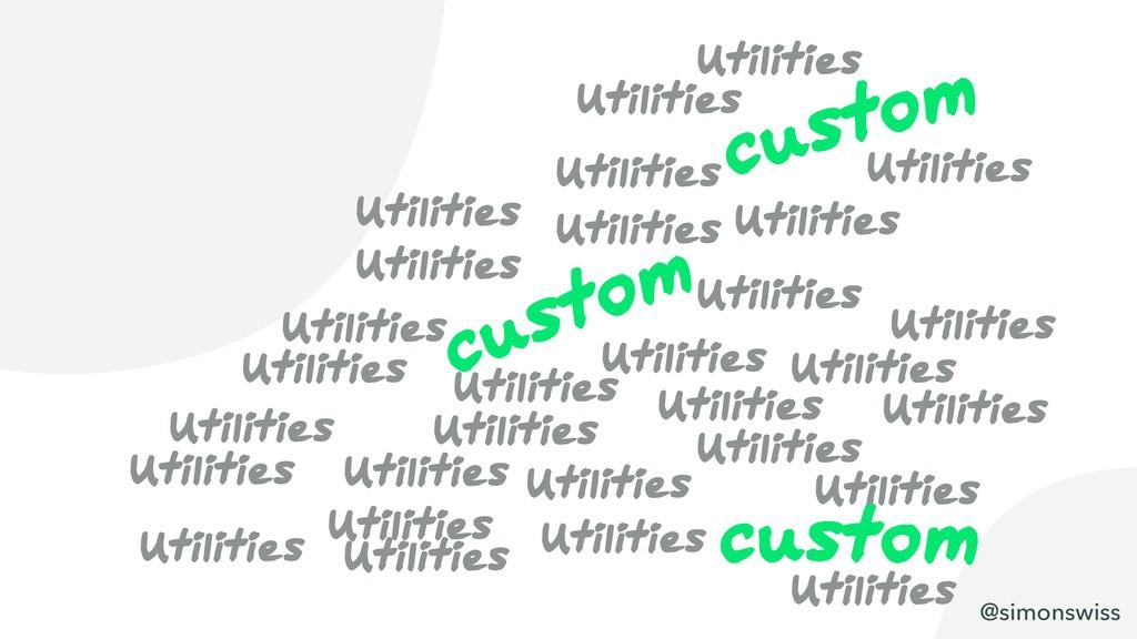 @simonswiss custom custom custom Utilities Util...