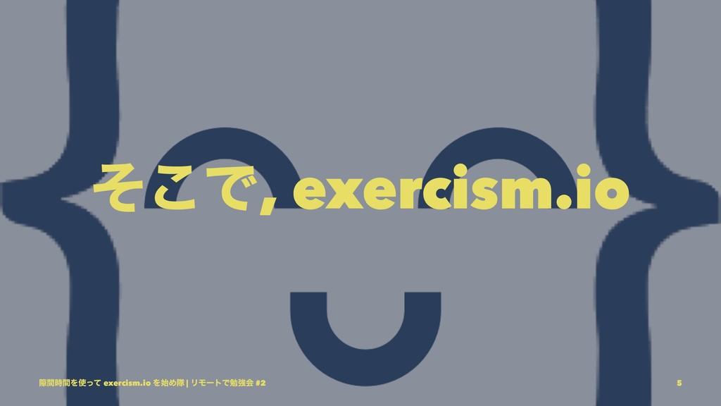 ͦ͜Ͱ, exercism.io 伱ؒؒΛͬͯ exercism.io ΛΊୂ | ϦϞ...