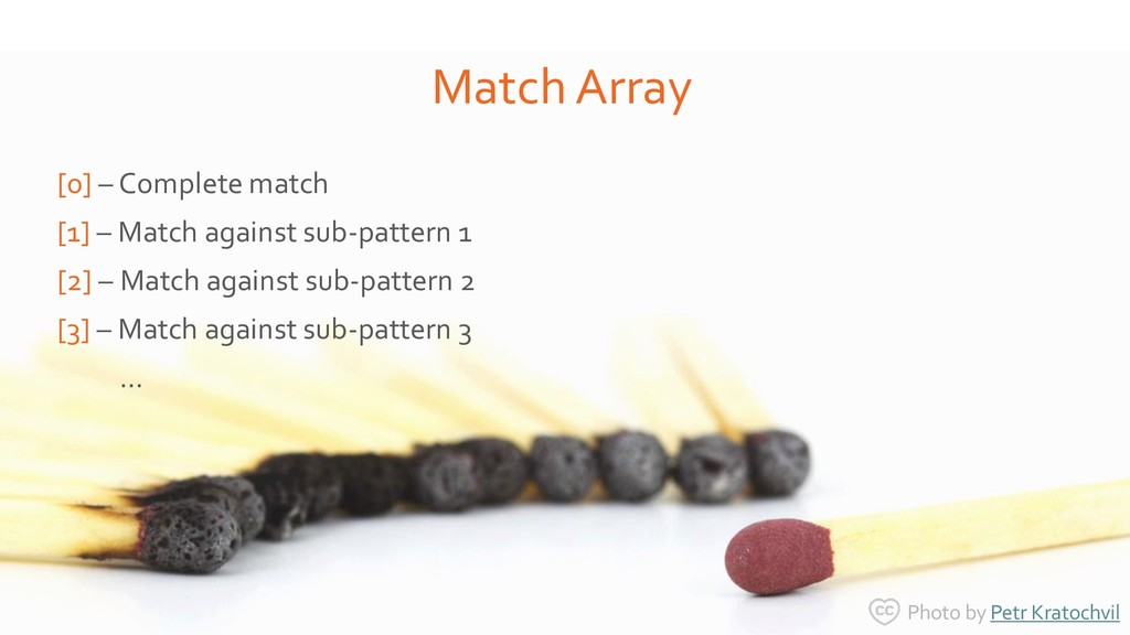 [0] – Complete match [1] – Match against sub-pa...