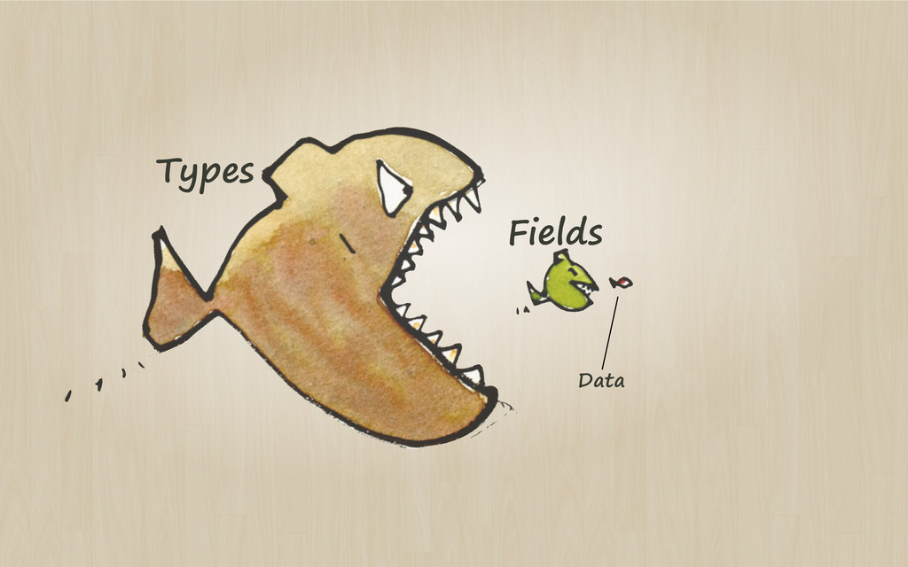 Types Fields Data