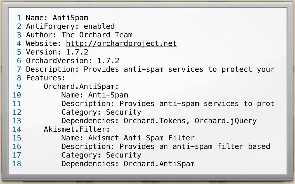 Name: AntiSpam AntiForgery: enabled Author: The...