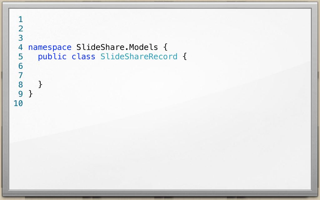 namespace SlideShare.Models { public class Slid...