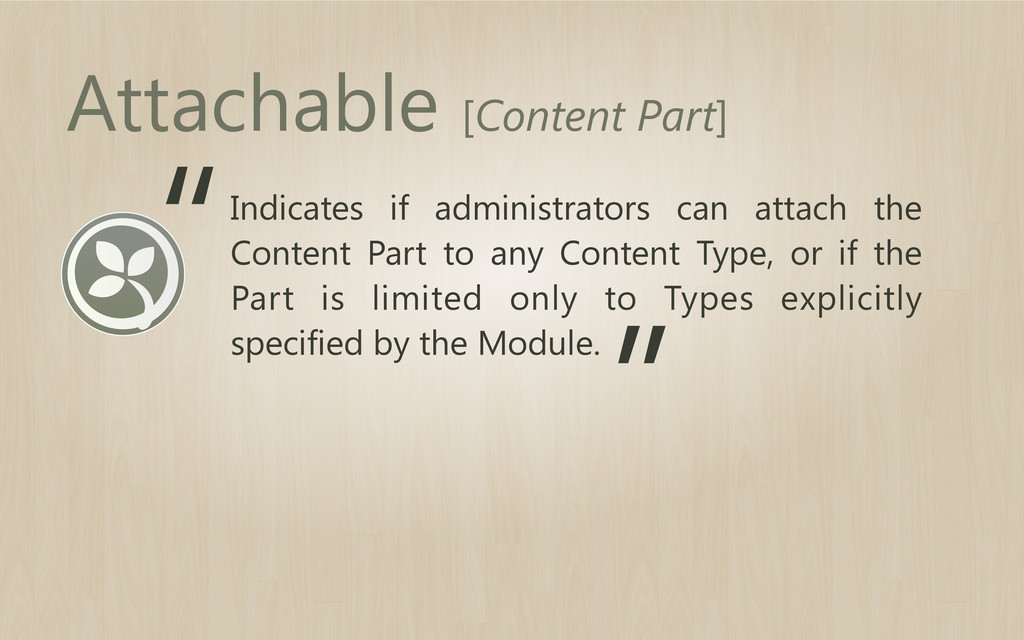 Indicates if administrators can attach the Cont...