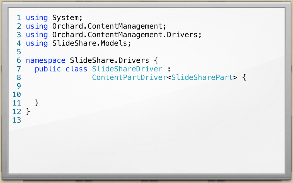 using System; using Orchard.ContentManagement; ...