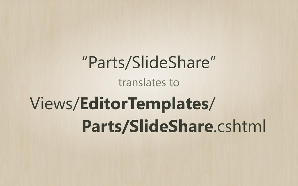 """Parts/SlideShare"" Views/EditorTemplates/ Parts..."