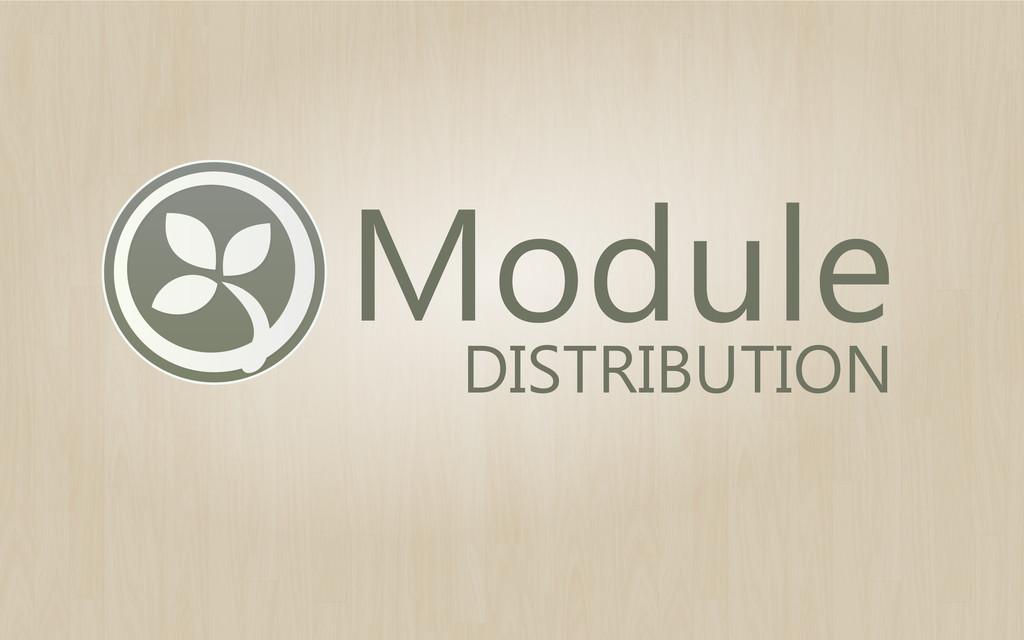 Module DISTRIBUTION