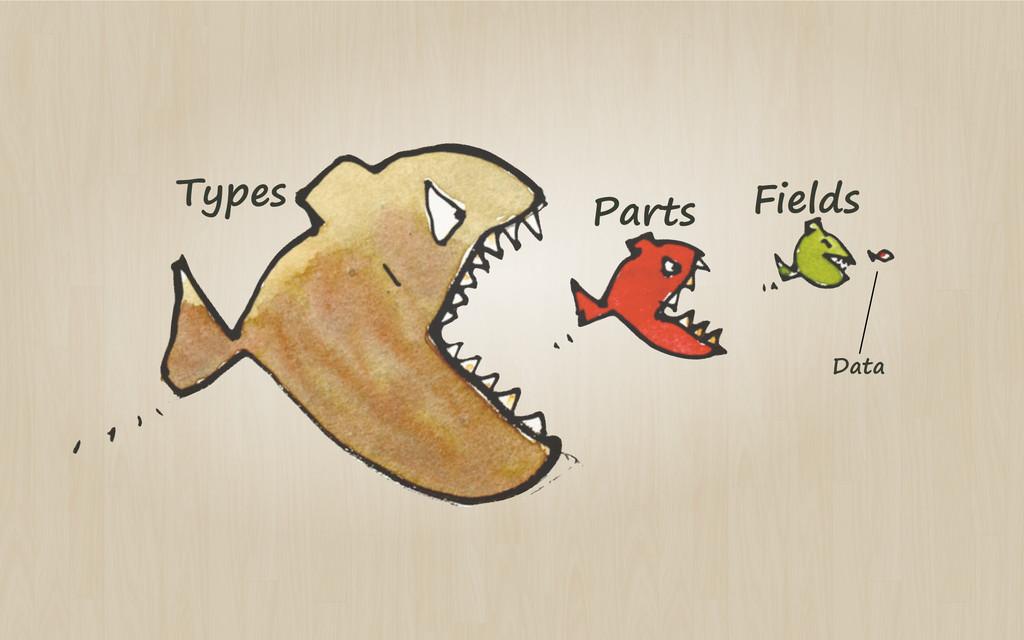 Types Parts Fields Data