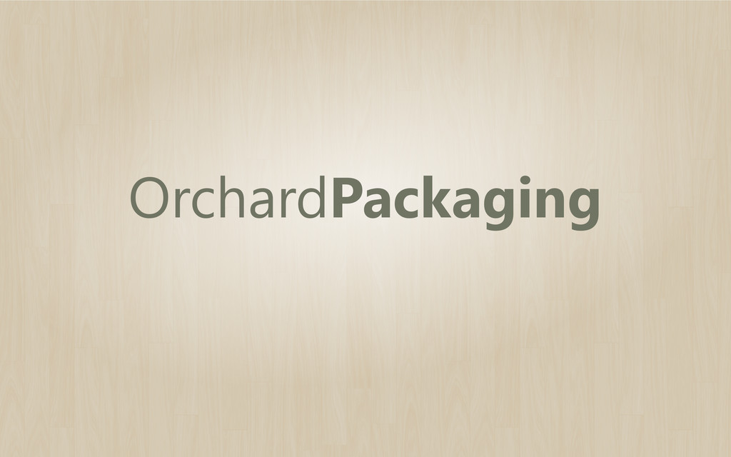 OrchardPackaging