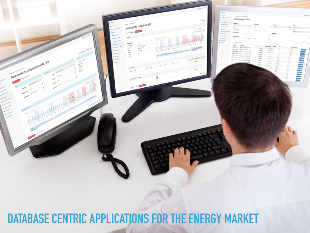 DATABASE CENTRIC APPLICATIONS FOR THE ENERGY MA...