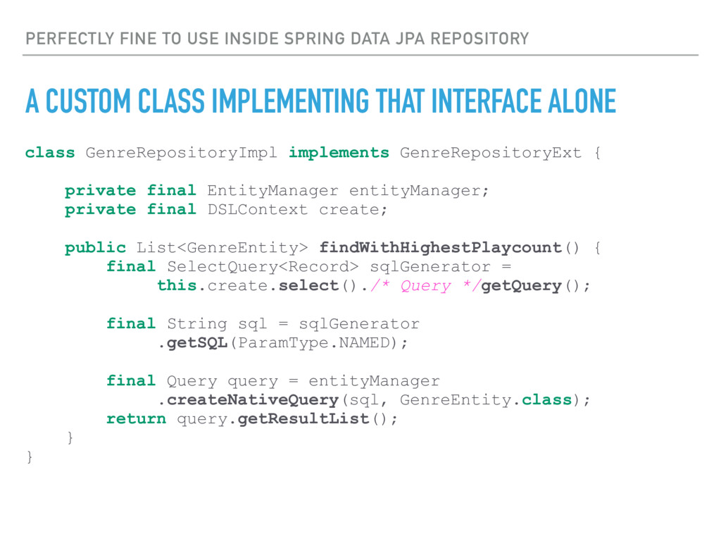 class GenreRepositoryImpl implements GenreRepos...