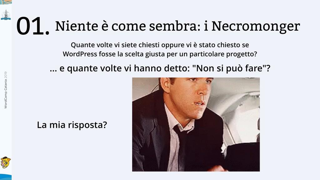 WordCamp Catania 2019 Niente è come sembra: i N...