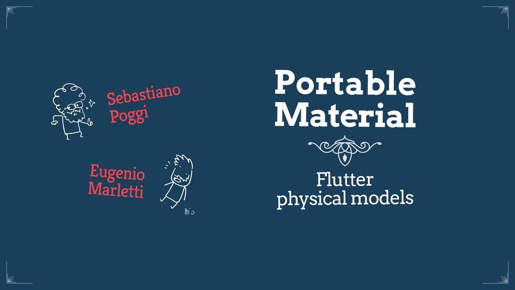 Sebastiano Poggi Eugenio Marletti Portable Mate...