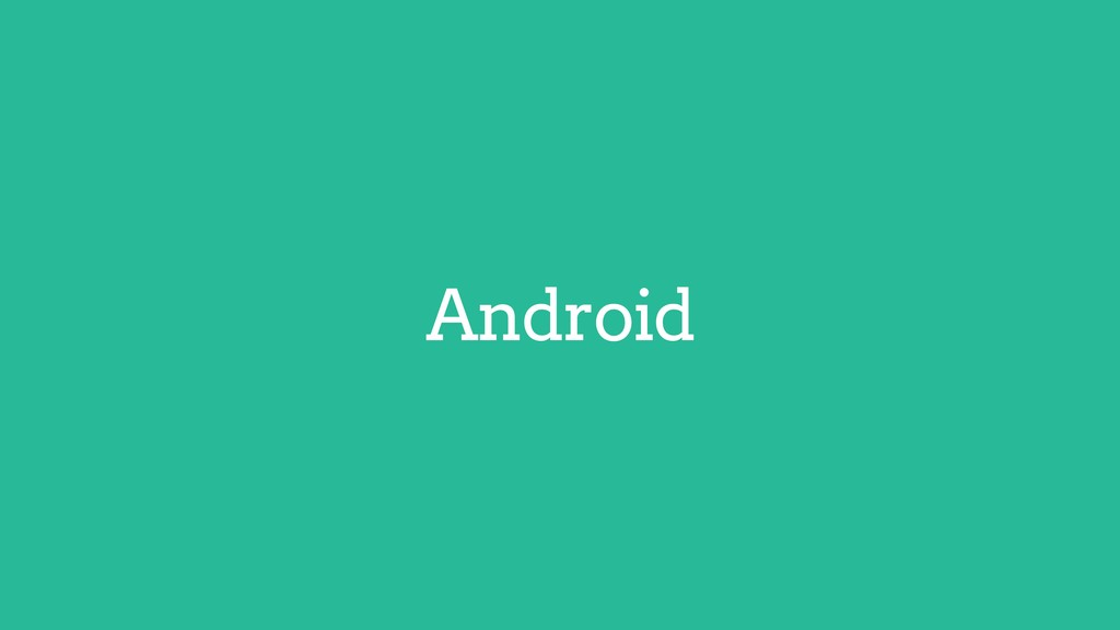 Android Flutter