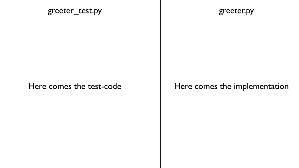 greeter_test.py greeter.py Here comes the test-...