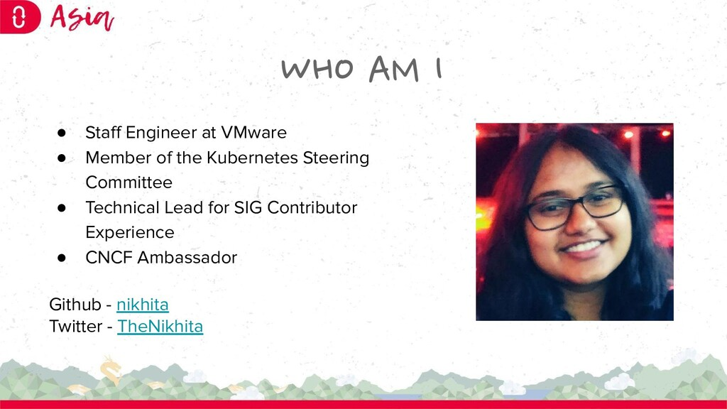WHO AM I ● Staff Engineer at VMware ● Member of ...