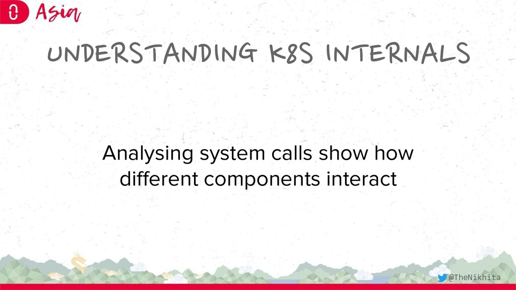 UNDERSTANDING K8S INTERNALS Analysing system ca...