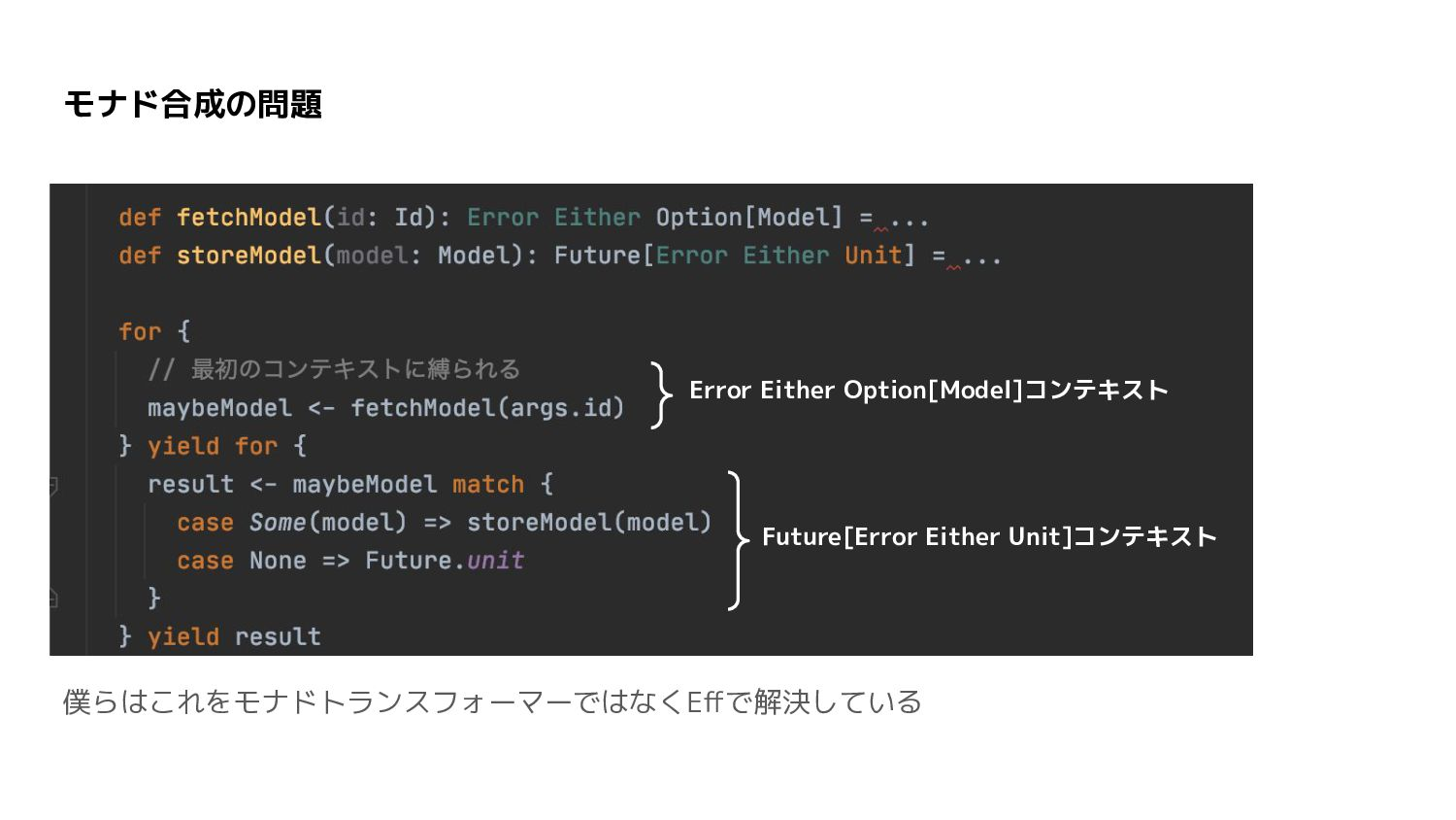 Eff(Extensible Effects) 正確にはExtensible Effectsを改善し...