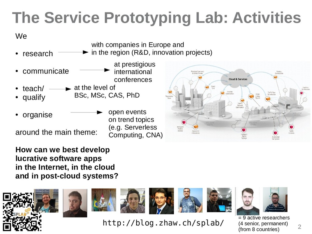 2 The Service Prototyping Lab: Activities http:...