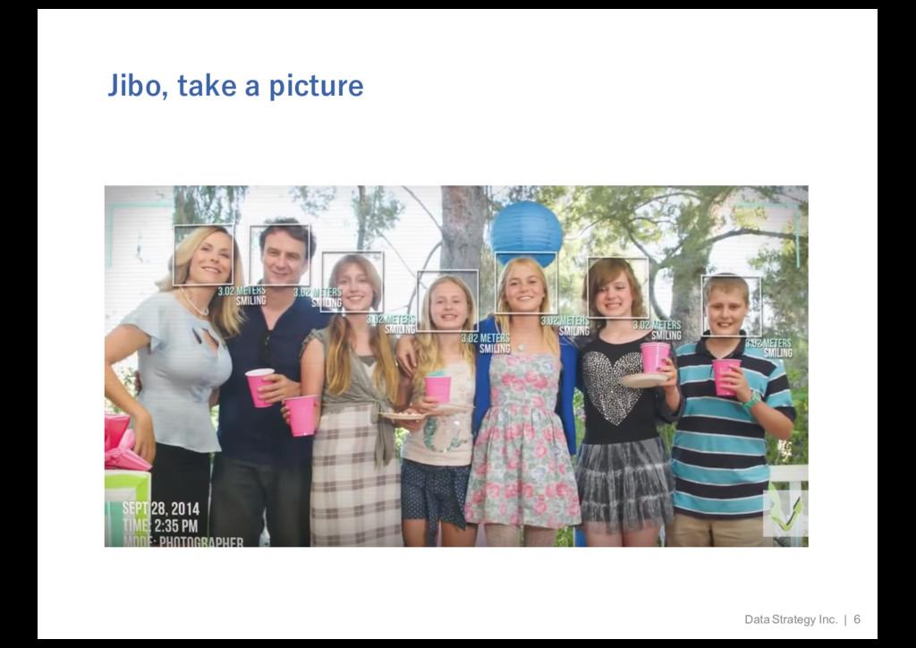 Jibo, take a picture Data Strategy Inc.   6