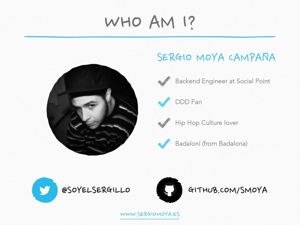 @SOYELSERGILLO GITHUB.COM/SMOYA Backend Enginee...